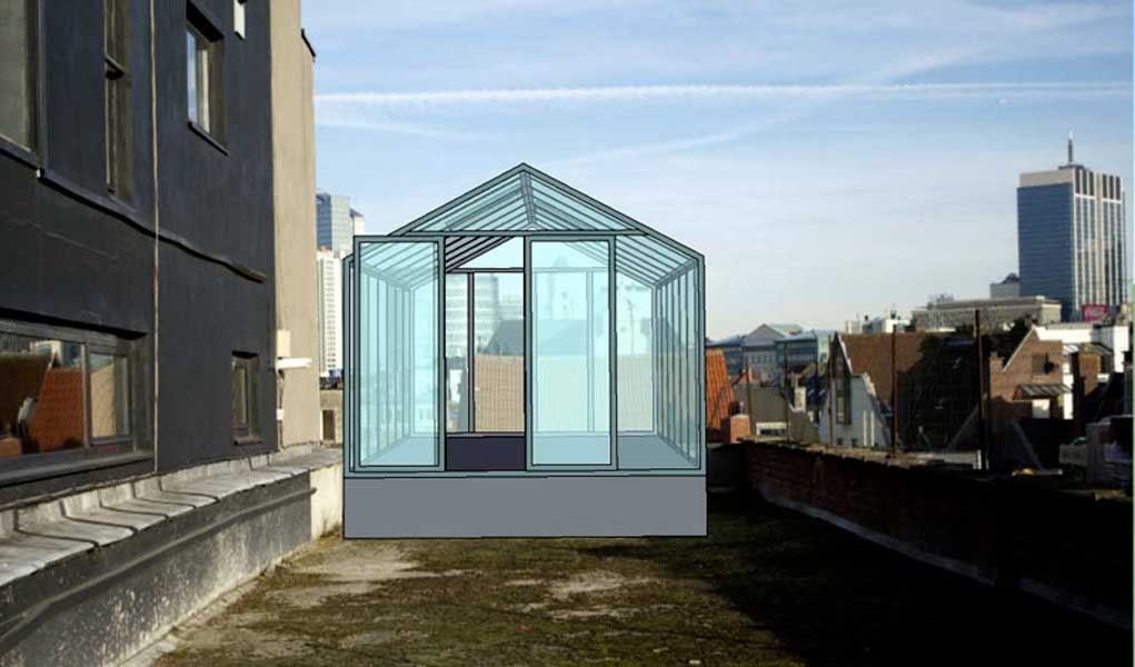 design for rooftop greenhouse