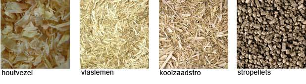 substraten voor mycelium